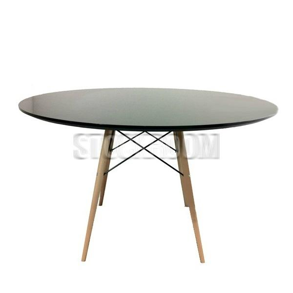 Eames circular dsw style dining table hong kong for Table eames dsw
